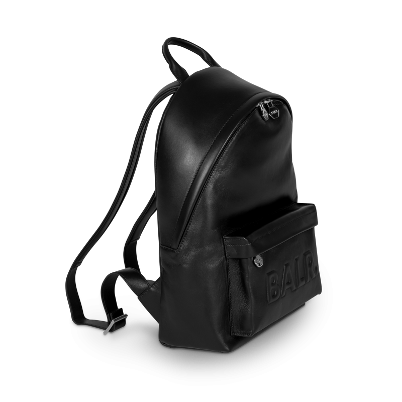 Leather Petite Backpack Side