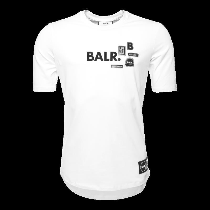 Brand Badge T-shirt Wit