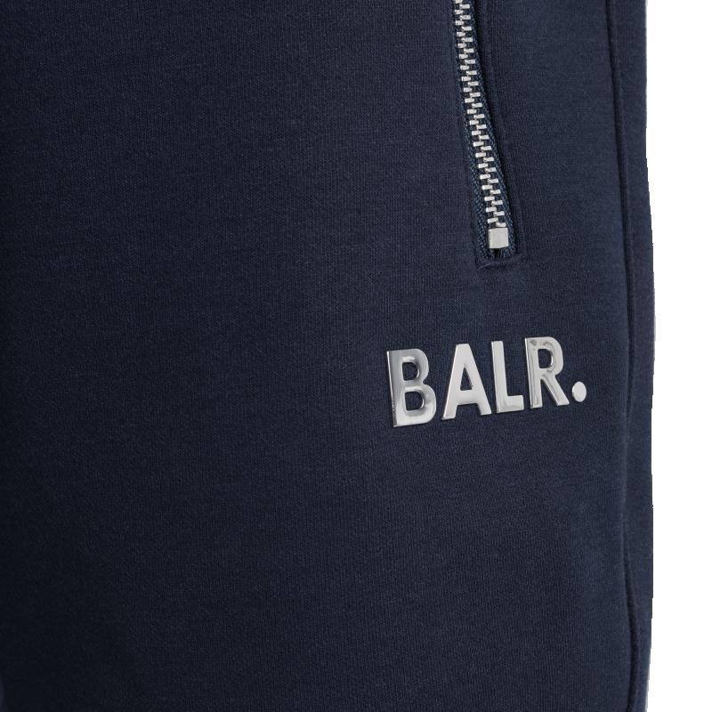 BALR. Q-Series Sweat Shorts Renewed Navy Detail