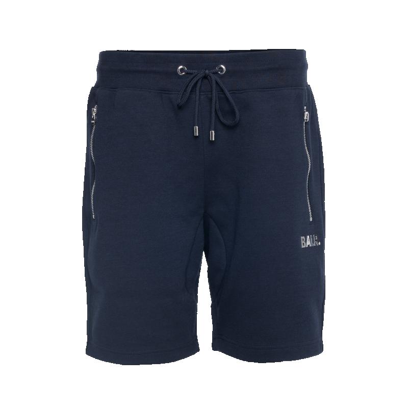 Voorkant BALR. Q-Series Sweat Shorts Renewed Marineblauw