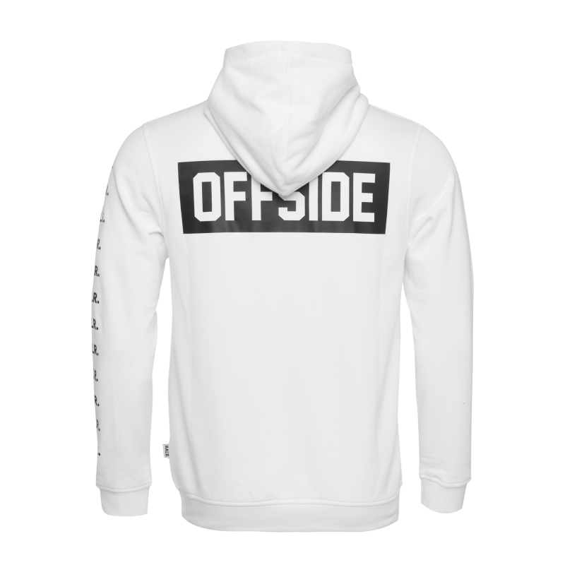 Offside Hoodie White