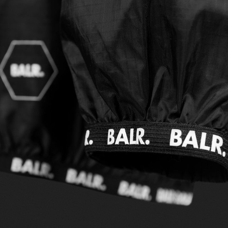 Nylon Windbreaker Black Detail