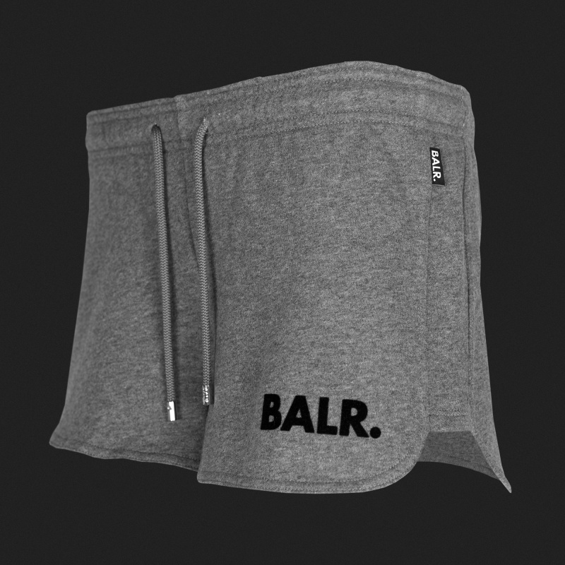 Women Sweatshorts Grey Side