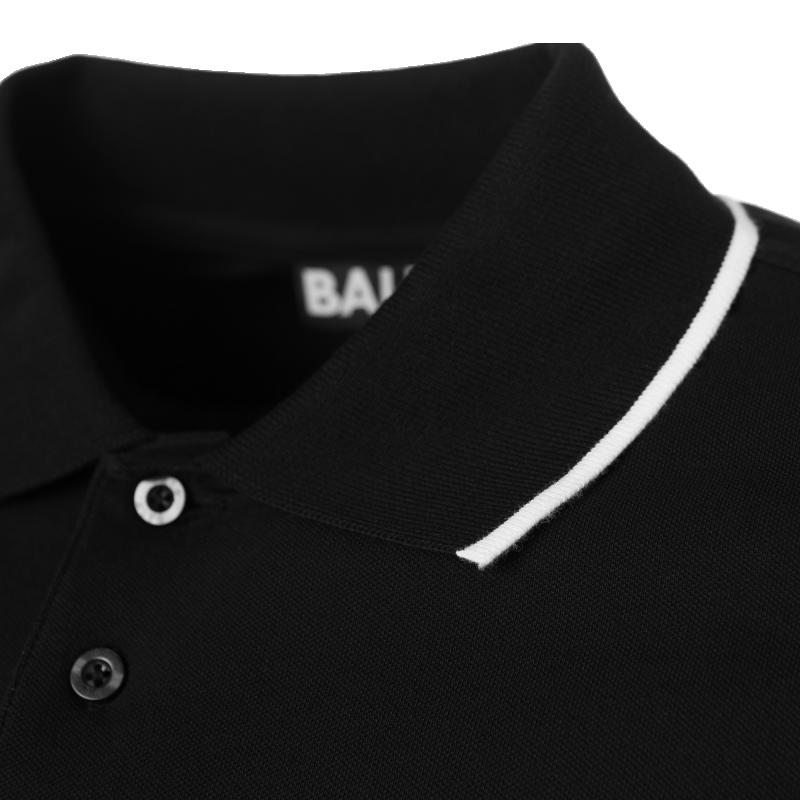 Black Badge Polo Collar