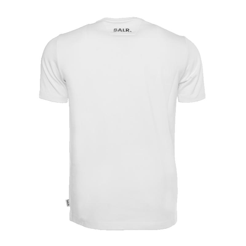 White Hexagon Shirt Back