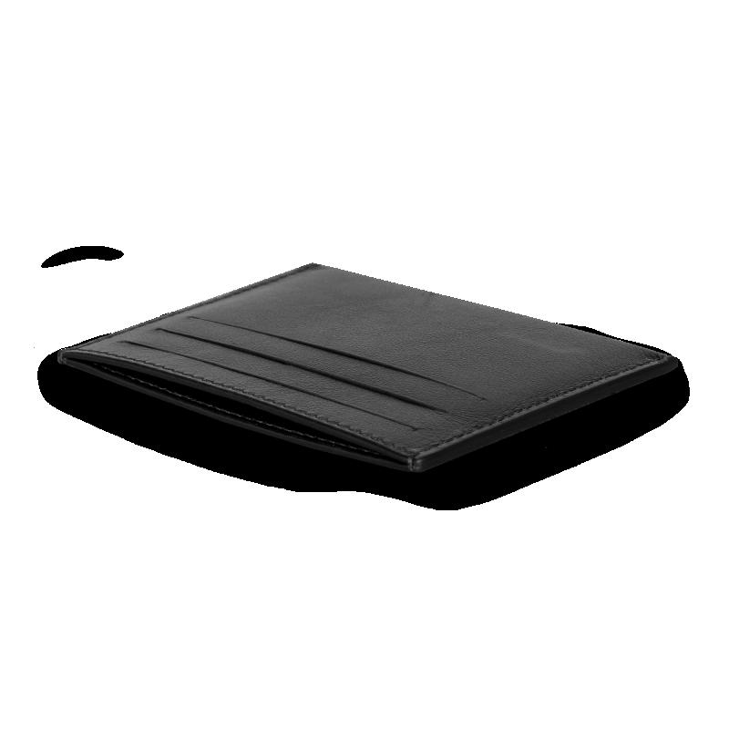 Leather Slim Cardholder Back