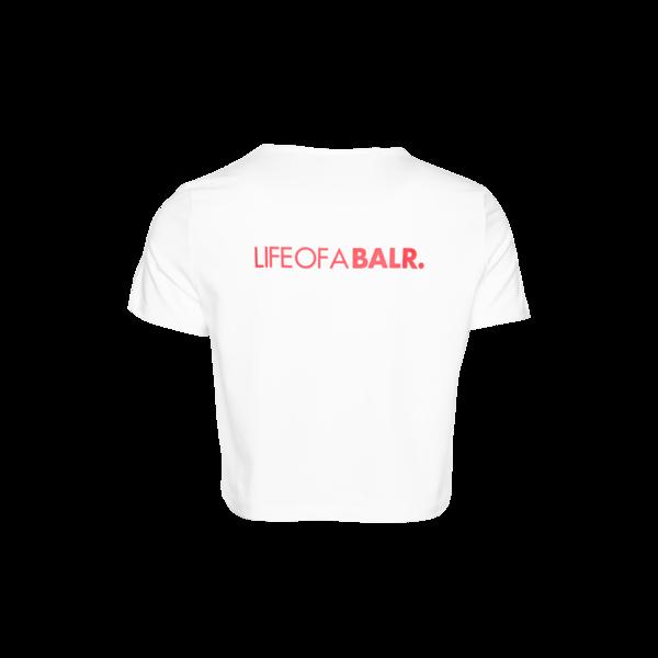 Achterkant LOAB Cropped T-Shirt Women