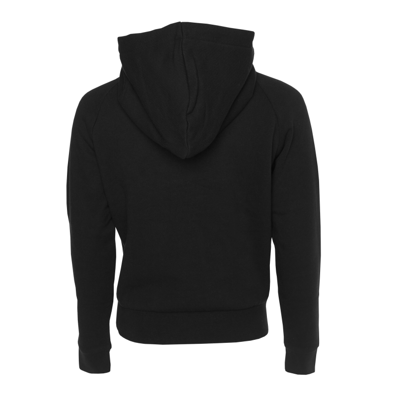 Women Club Hoodie Black Back