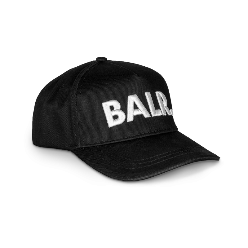 BALR. Classic Cotton Cap Black Side