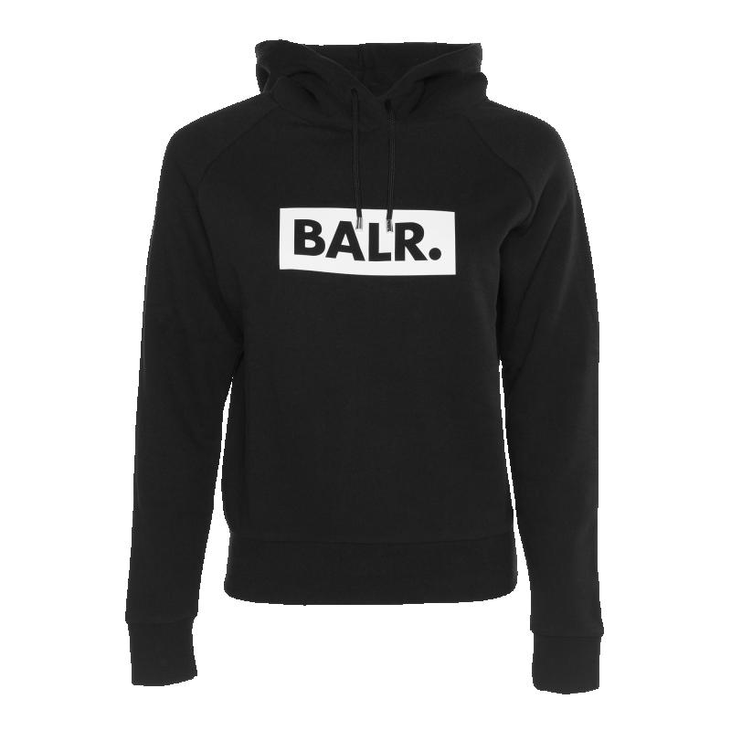 BALR. Women Club Hoodie Black
