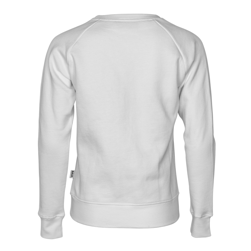 Women Brand Crew Neck White Back