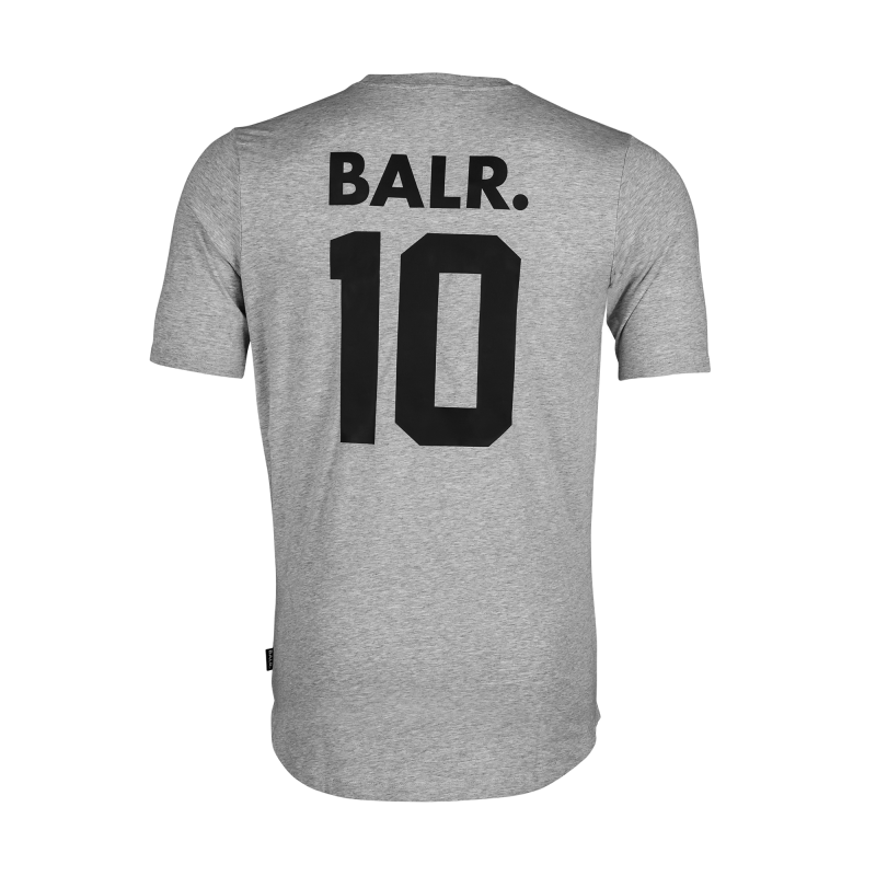 Grey BALR. 10 Shirt Back