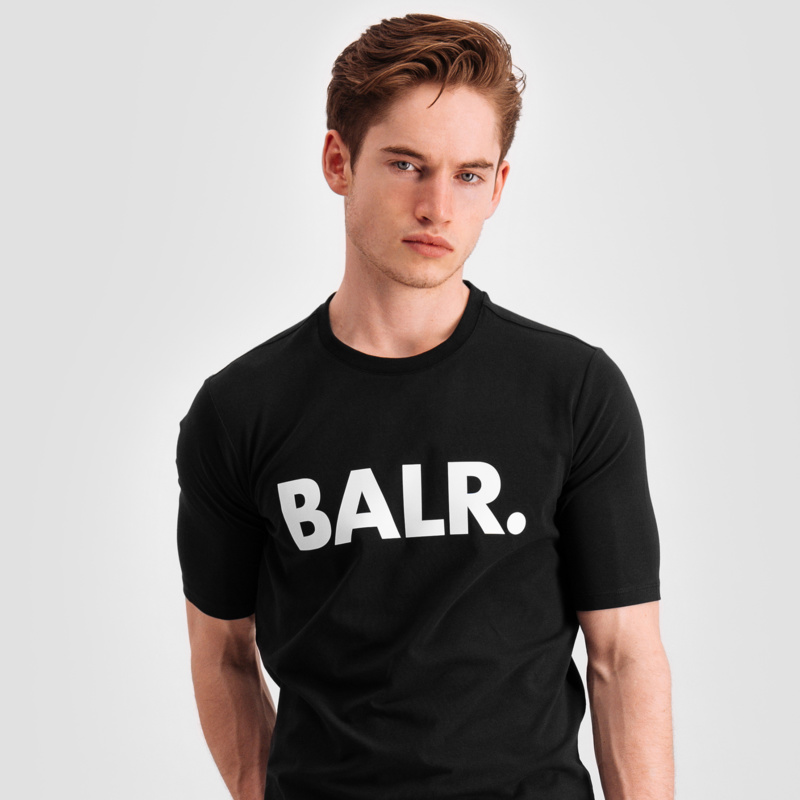 Brand Shirt Zwart Lifestyle