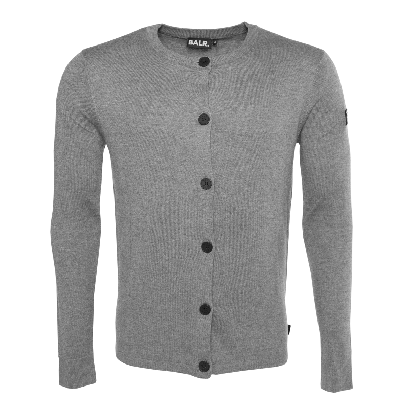 Knitted Cardigan Grey Front