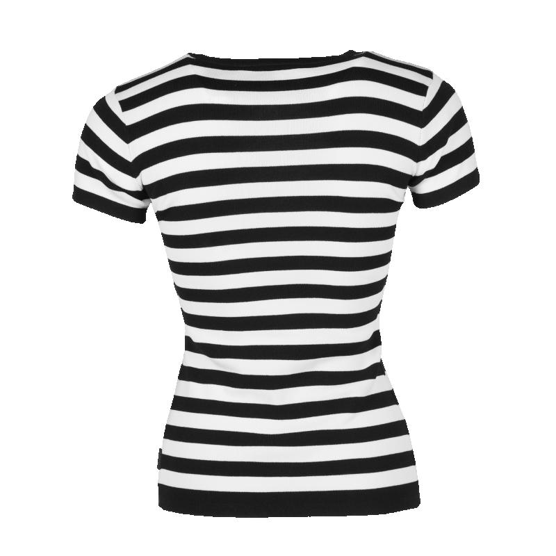 Striped Shirt Back