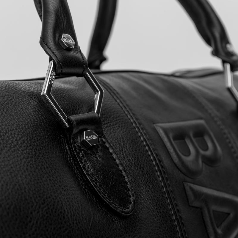 Leather Weekender Details