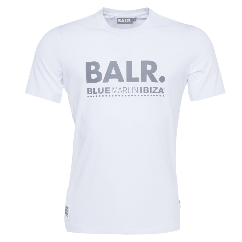BALR. x BMI Brand T-Shirt White