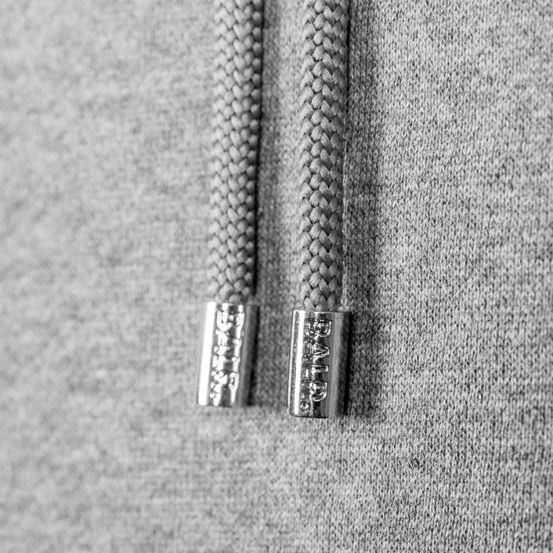 Grey Brand Hoodie Detail