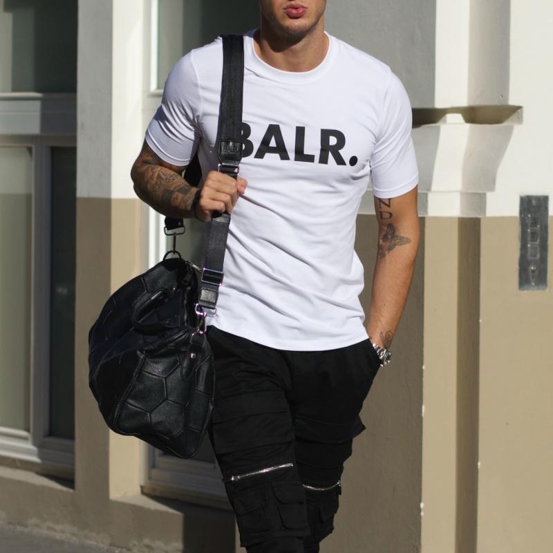 White Brand Shirt Lifestyle