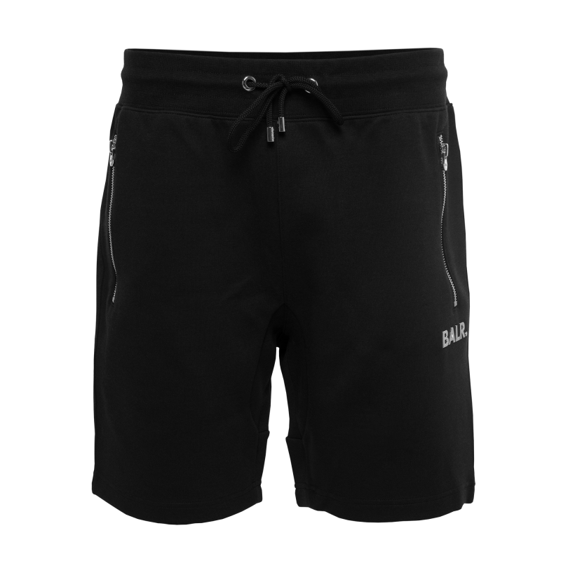 BALR. Q-Series Sweat Shorts Renewed Black Front