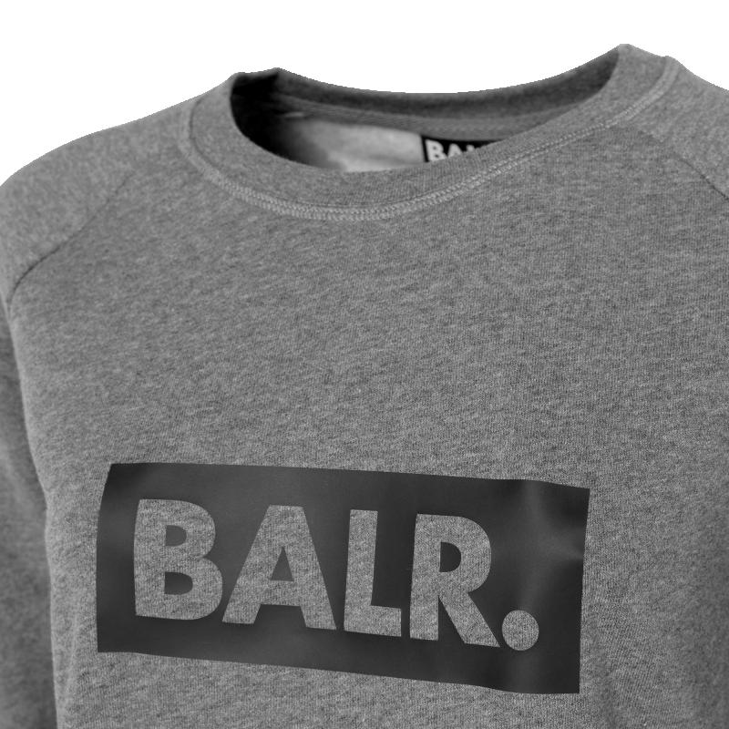 Women Club Crew Neck Sweater Grey Details
