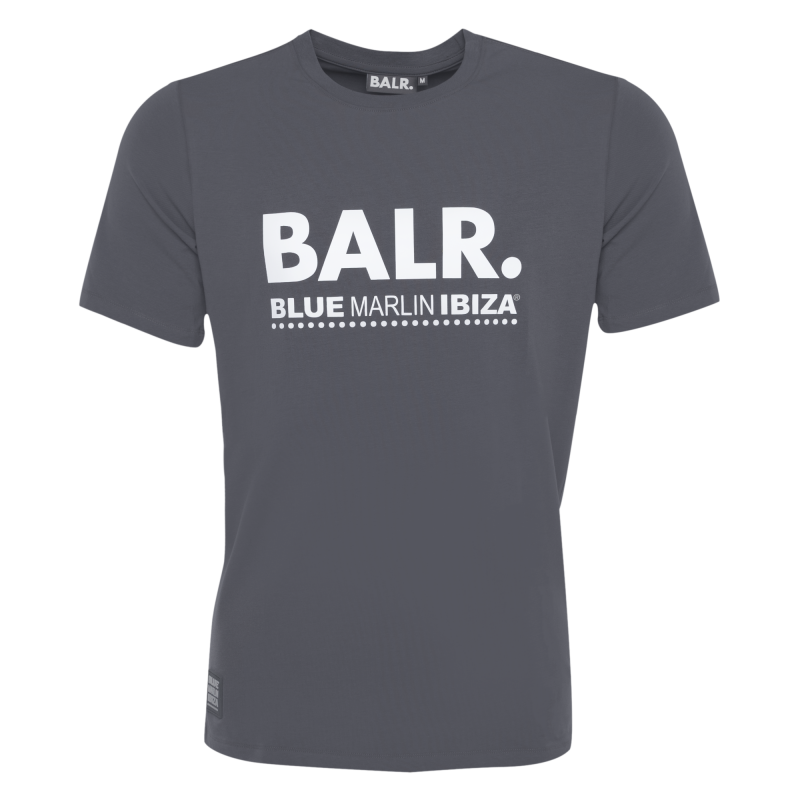BALR. x BMI Brand T-Shirt Grey