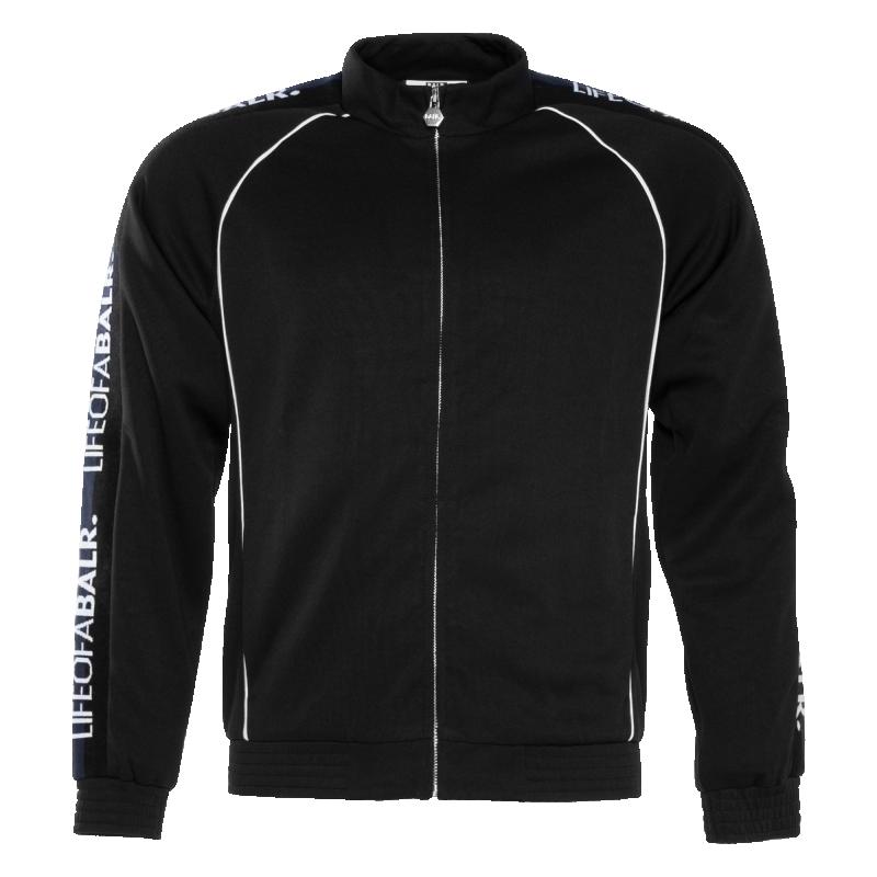 LOAB Webbing- Trimmed Jacket Black Front