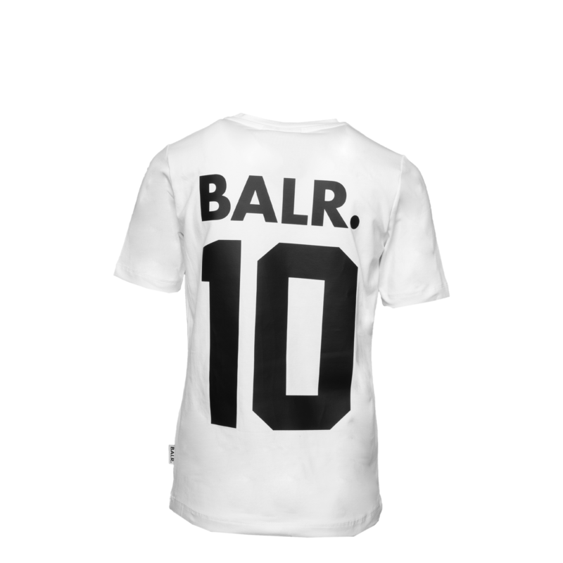 BALR. 10 T-shirt Kids White back