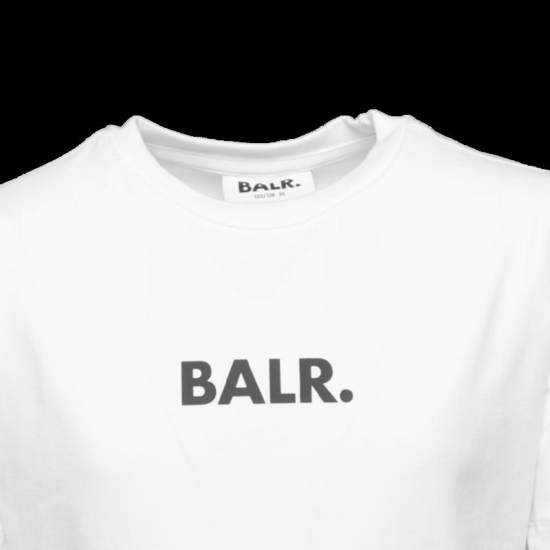 BALR. 10 T-shirt Kids White detail