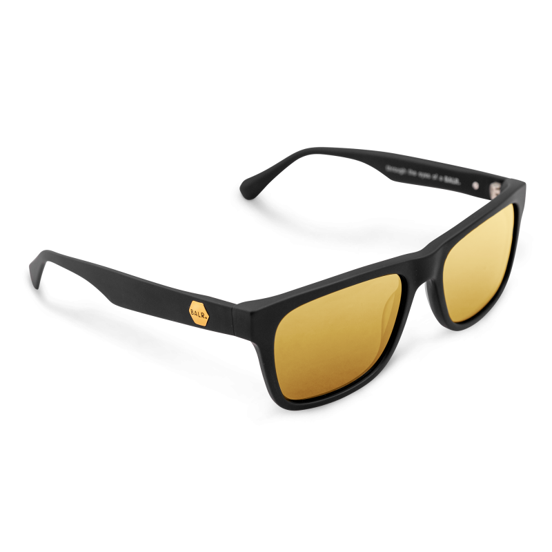 Gold Defender Sunglasses Side