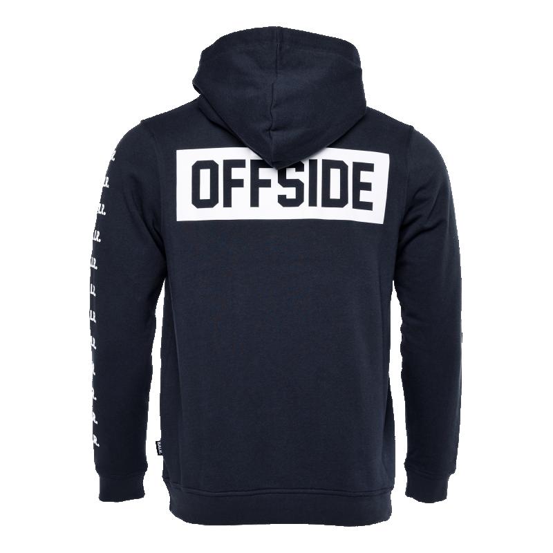 Offside Hoodie Navy Blue