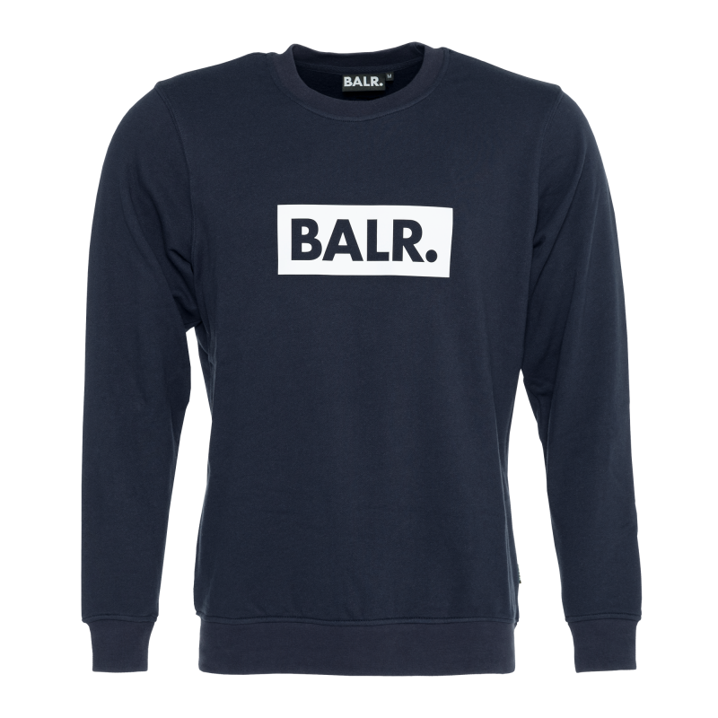 Club Crew Neck Sweater Navy Blue
