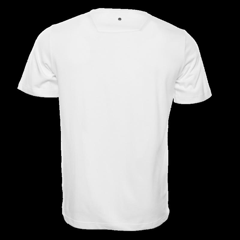Silver Club Straight T-shirt White