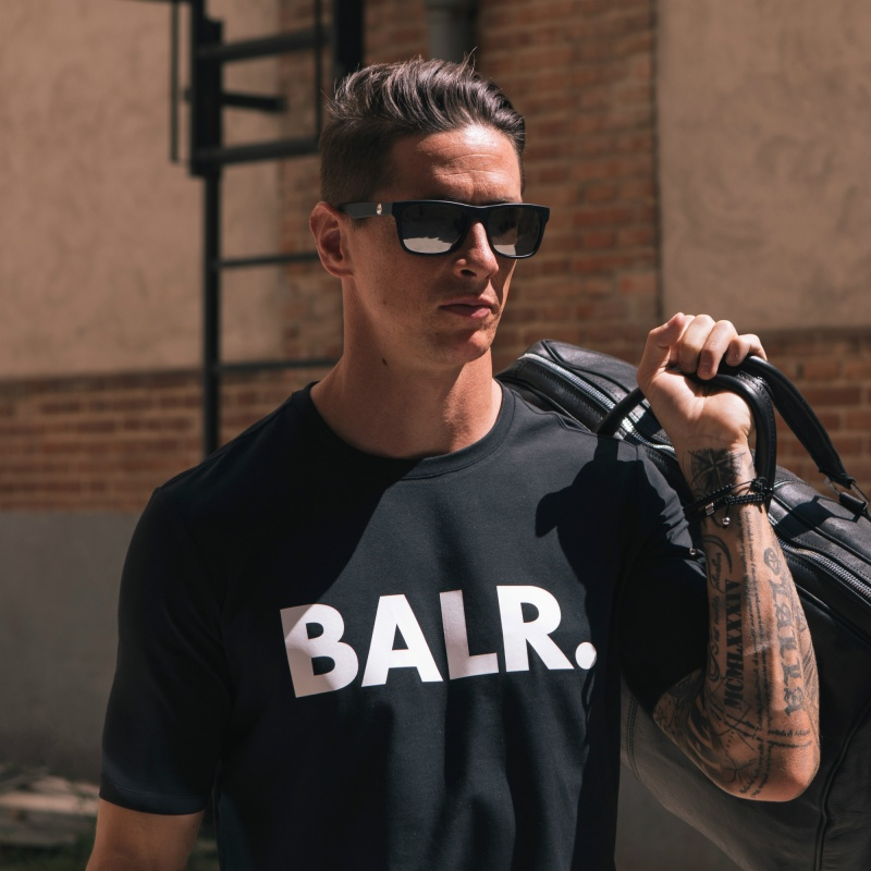 Black Brand Shirt Lifestyle