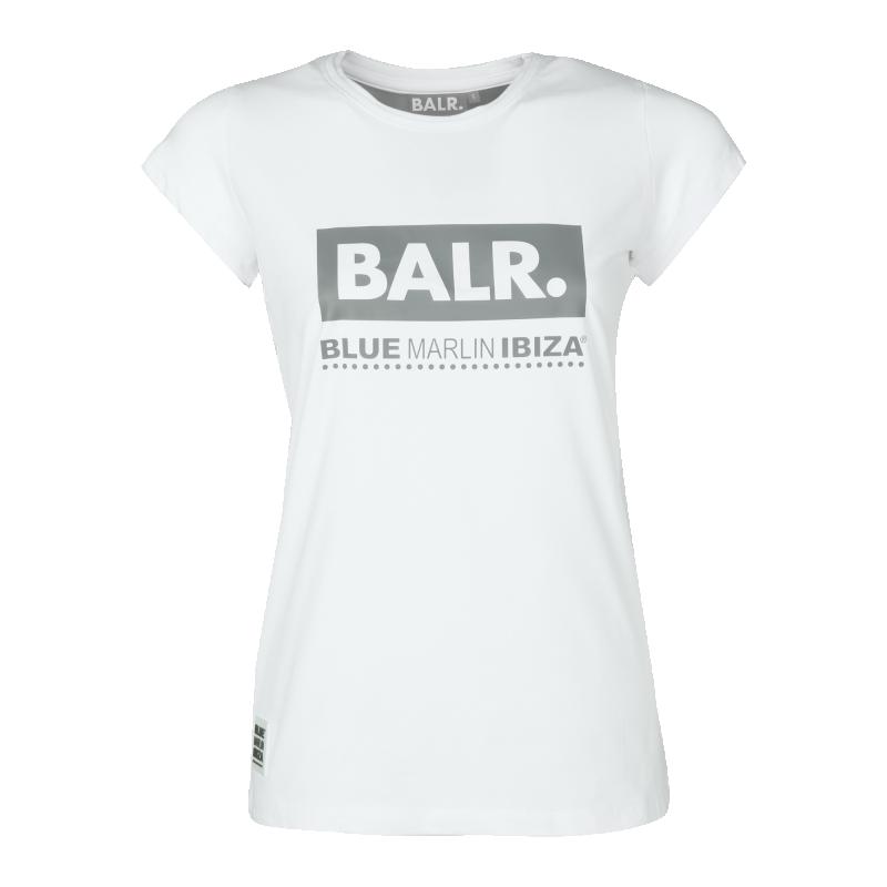 BALR. x BMI Women Club Shirt White