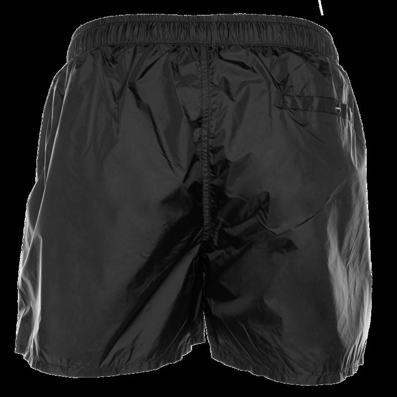Silver club swim shorts Black