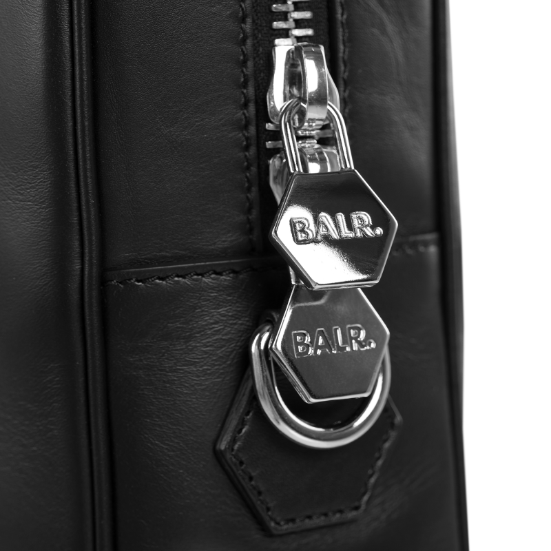 BALR. Leather Men's Bag Ritssluiting