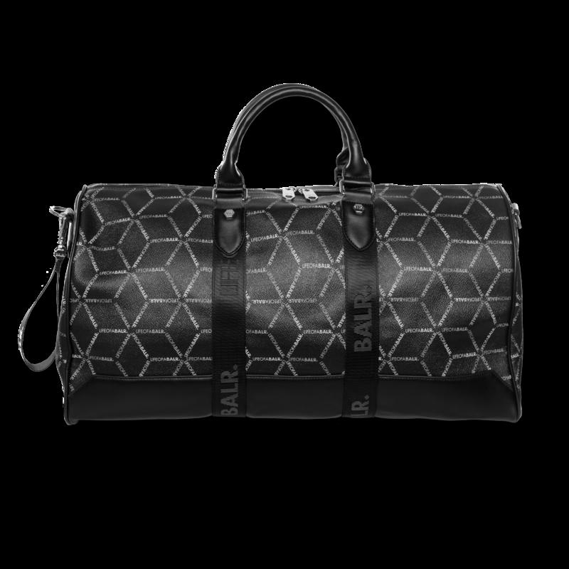 BALR. LOAB All-Over Print Duffle Bag Black