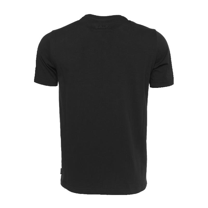 Black Hexagon Shirt Back