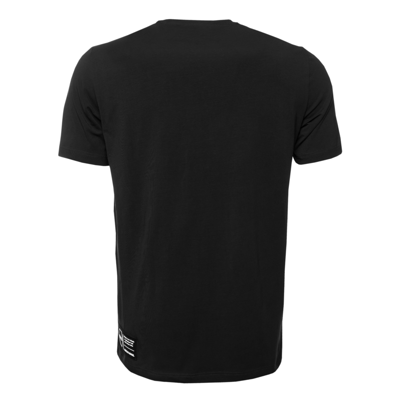 Titled Logo T-shirt Black back