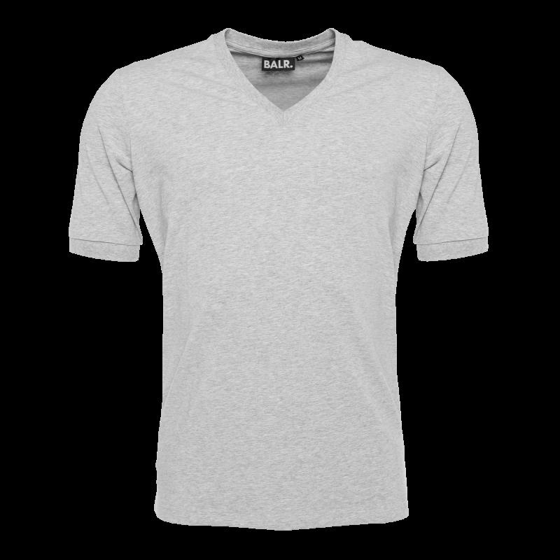V-Neck Shirt Grey