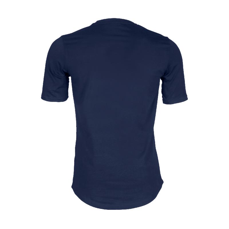 Navy Blue Brand Shirt Back