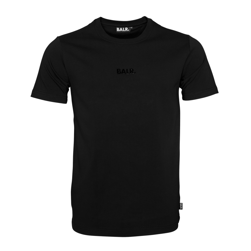 Black Basic Shirt Front
