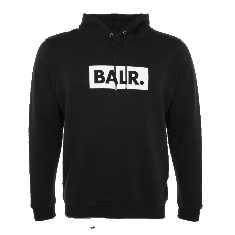 BALR. Club Hoodie Black