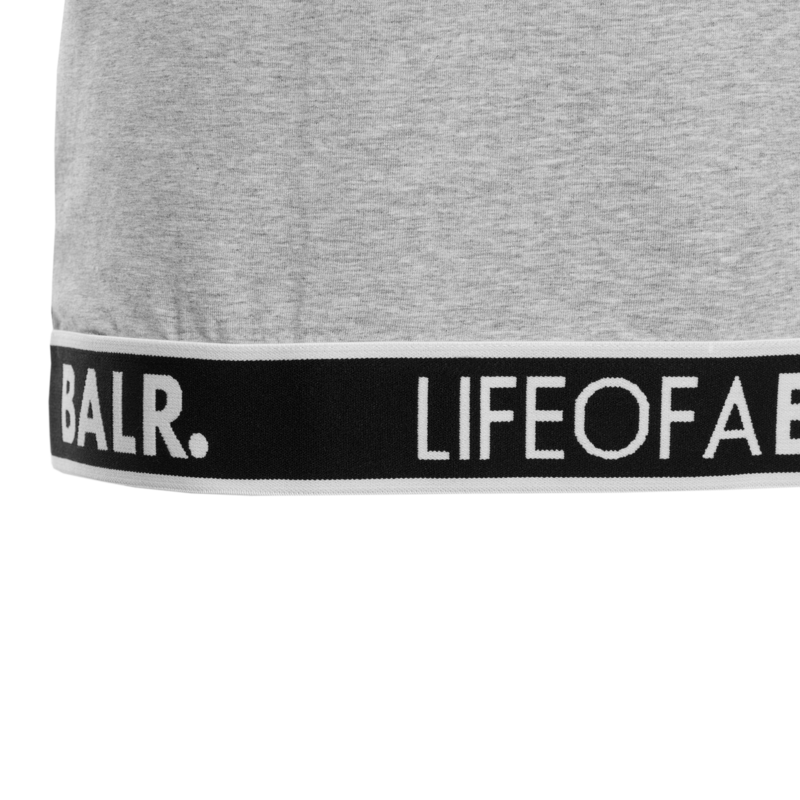 LOAB Lounge Straight T-Shirt Grey