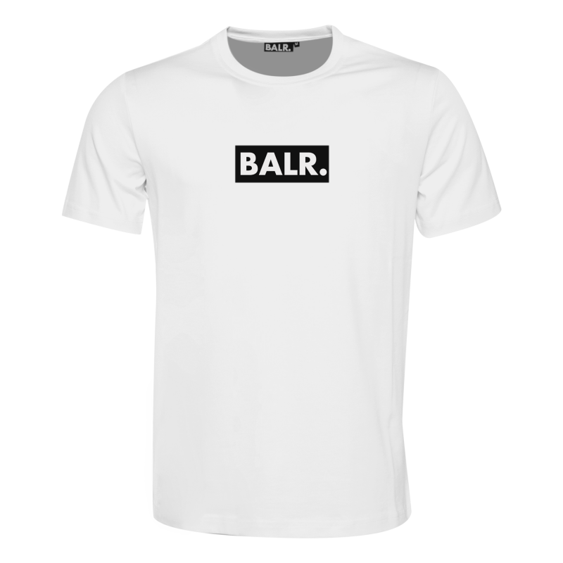 BALR. Black Label - Club T-Shirt White Front