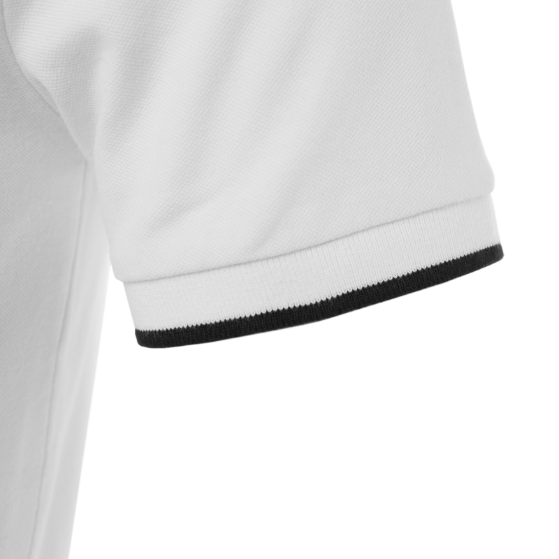 White Badge Polo Sleeve