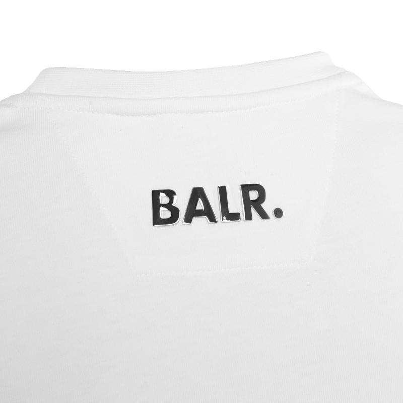White Hexagon Shirt Logo