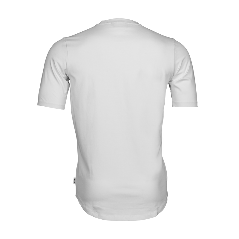 White Brand Shirt Back