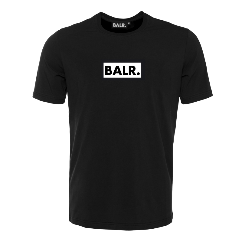 BALR. Black Label - Club T-Shirt Black Front